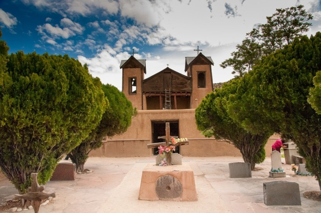 Kostolík v El Santuario de Chimayo Photo by Brent Schneeman / CC BY
