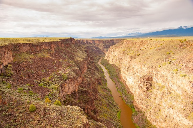 Rio Grande kaňon Photo by Brent Schneeman / CC BY